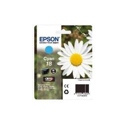 Originale Epson C13T18024010 Cartuccia inkjet 18/MARGHERITA ciano