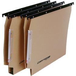 Cartelle sospese Linea Cartesio Bertesi - Per armadio 33cm U3 - avana - conf. 100