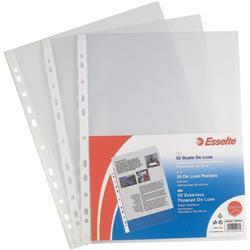 Buste a foratura universale Copy Safe Esselte Office - 22x30 cm - goffrata - medio spessore - conf. 50
