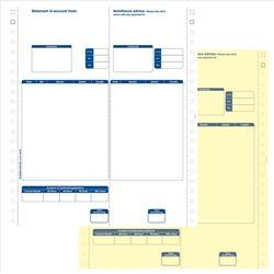 Sage Compatible Statements Tear-off Remittance Portion 2 Part Ref SE12 (Pack 1000)