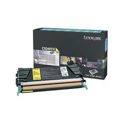 Lexmark Laser Toner Cartridge Return Program Page Life 7000pp Yellow Ref C5340YX
