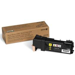 Xerox Phaser 6500 Laser Toner Cartridge High Capacity Page Life 2500pp Yellow Ref 106R01596