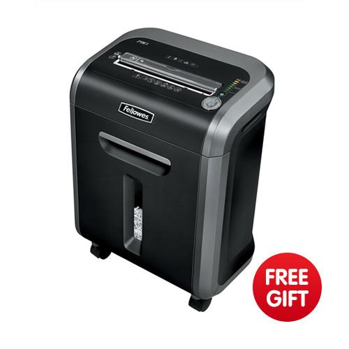 Fellowes 79ci deskside shredder confetti cut din3 p 4 ref for Best home office shredder uk