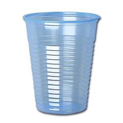 Water Cups Plastic Non Vending for Cold Drinks 7oz 200ml Blue (Pack 1000)
