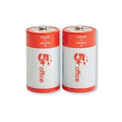 5 Star Office Batteries C /LR14 [Pack 2]