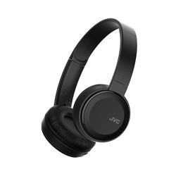 JVC Wireless Headphones On Ear Bluetooth 10m Range Micro USB Black HA-S30BT-B-E