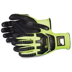 Superior Glove Tenactiv Glv Black Widow Size 5 Yellow Ref SUSTAFGPU12