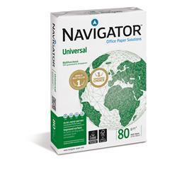 Carta Navigator Universal - carta A4 offerta per stampanti ufficio - 80 g/mq - 5 risme