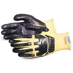 Superior Glove Dexterity Kevlar Blended Cut-Resistant L Black Ref SUSKFGFNVBL