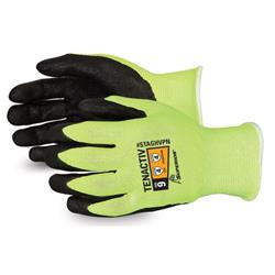 Superior Glove Tenactiv Hi-Vis Composite Knit Size 7 Yellow Ref SUSTAGHVPN07