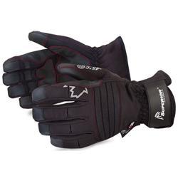 Superior Glove Snowforce Extreme Cold Winter Gloves L Black Ref SUSNOWD388VL