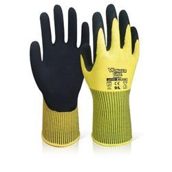 Wonder Grip WG-310H Comfort Hi-Vis Yellow Glove 2XL Ref WG310HSYXXL