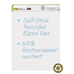 Post-it Easel Pad Recycled Self-adhesive 30 Sheets 762x635mm Ref 559RP Pack 2
