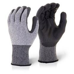 Click Kutstop Pu Coated Cut 5 Glove Black XL Ref KSPU5XL [Pack 10]