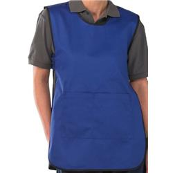 Click Workwear Tabbard PolyCotton Side Fastening Large Royal Blue Ref PCTABRL