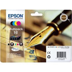 Epson Pen and Crossword 16 (RF/AM) Multipack 4 Colour Cartridges (Black/Cyan/Magenta/Yellow)