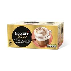 Nescafe Cappuccino Instant Coffee Sachets One Cup Ref 12314883 [Pack 50]