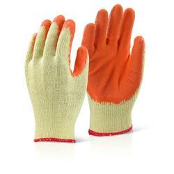 Click2000 Economy Grip Glove Orange M Ref EC8ORM [Pack 100]