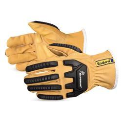 Superior Glove Endura Oilbloc Anti-Impact Driver Glove Tan L Ref SU378GKGVBL