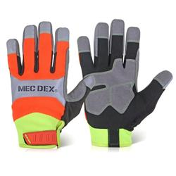 Mecdex Functional Plus Impact Mechanics Glove M Ref MECFS-713M