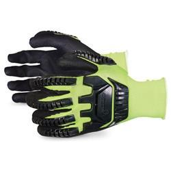 Superior Glove Dexterity Hi-Vis Anti-Impact 07 Yellow Ref SUS13YPNVB07