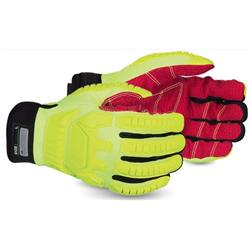 Superior Glove Clutch Gear Anti-Impact Hi-Vis L Yellow Ref SUMXHV5VSB L