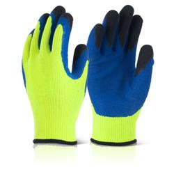 B-Flex Latex Thermo-Star Fully Dipped Glove Yellow Size 11 Ref BF3SY11