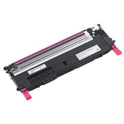 Dell D593K Standard Capacity (Yield 1,000 Pages) Magenta Toner Cartridge 593-10495 for Dell 1235cn Multi-function Laser Printers