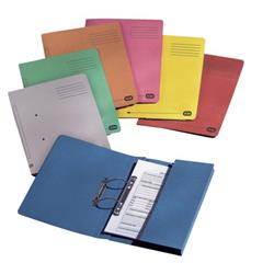 Elba Strongline Transfer Spring File Recycled Pocket 320gsm 36mm Foolscap Bordeaux Ref 100090149 [Pack 25]