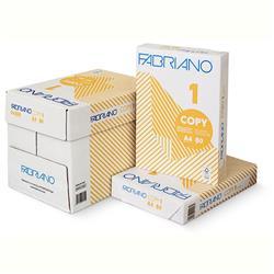 Copy 1 Fabriano - carta bianca per stampanti e fotocopiatrici per ufficio - A4 80 g/mq  - 5 risme