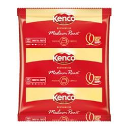 Kenco Westminster Filter Coffee 3 Pints per 60g Sachet Ref A01216 - Pack 50