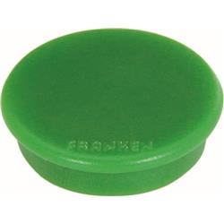 Franken Tacking Magnets Size 38mm Adhesive Force 1500g Green 10 Pieces Ref HM38 02