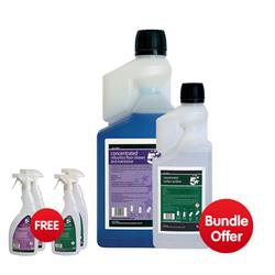 5 Star Facilities Concentrated Odourless floor Cleaner 1L - Bundle Offer & FREE 4x Trigger Spray Bottles