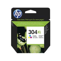 HP 304XL Tri-Colour Inkjet Print Cartridge Ref N9K07AE