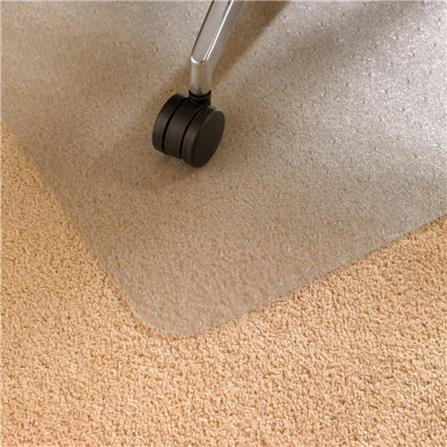 Floortex Chair Mat Rectangular For Carpet Protection