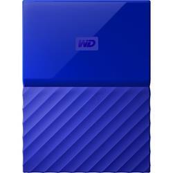 My Passport 4TB USB3.0 Portable Blue HDD Ref WDBYFT0040BBL-WESN