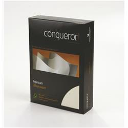 Conqueror Paper Texture Laid Cream FSC4 A4 210x297mm 100Gm2 Watermarked Ref 25574 [Pack 500]