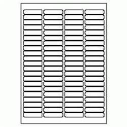 5 Star Value Labels Laser 84 per Sheet 46x11.1mm White [8400 Labels]