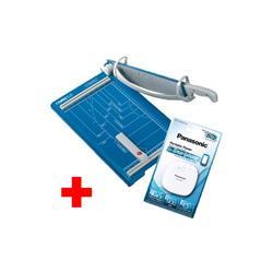Pack Promozionale Taglierina a leva 561 + Powerbank Panasonic Dahle - A4 - 360 mm  35 fogli