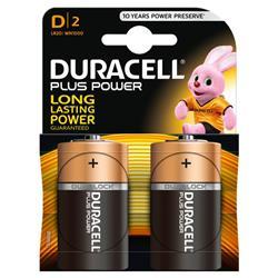 Pile Duracell Plus - torcia - conf. 2