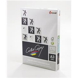 Color Copy Paper Coated Silk White FSC4 A3 420x297mm 170gm Ref 24888 [Pack 250]