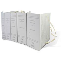 Faldoni per archivio - rivestiti in carta - dorso 15 cm - 25x35 cm