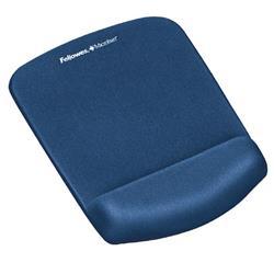 Fellowes PlushTouch Mousepad Wrist Support Blue Ref 9287302