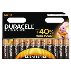 Pile Duracell Plus - stilo AA - conf. 12
