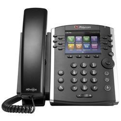 Polycom VVX 400 12 Line Desktop Phone Ref 2200-46157-025